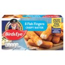 Birds Eye 8 Crispy Battered Fish Fingers