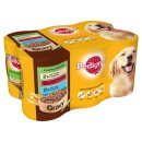 Pedigree Dog Tins Country Casseroles in Gravy 6x400g