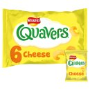 Walkers Quavers Cheese (6 Pack)