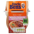 Uncle Ben's Rice Time Microwave Wholegrain Mexican Chilli 300g