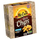 McCain Straight Cut Quick Chips 4x100g
