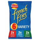 Walkers French Fries Variety (6 Pack)