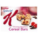 Kellogg's Special K Chocolate & Raspberry Cereal Bars 5x22g
