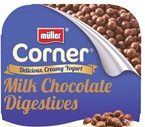 Muller Corner Milk Chocolate Digestive Yogurt