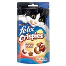 Felix Crispies Cat Treat Beef and Chicken 45g