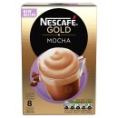 Nescafe Gold Mocha Coffee Sachets 8x 22g
