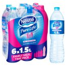 Nestle Pure Life Still Spring Water Bottles 6×1.5L