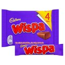 Cadbury Wispa Chocolate Bar (4 Pack)