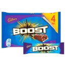 Cadbury Boost Chocolate Bar (4 Pack)