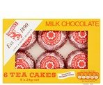 Tunnock's 6 Milk Chocolate Tea Cakes