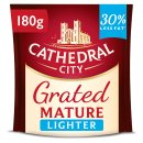 Cathedral City Grated Mature Lighter Cheese 180g