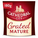 Cathedral City Grated Mature Cheddar Cheese 180g