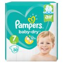 Pampers Baby Dry Nappies Size 7 (30 Pack)