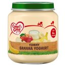 Cow & Gate Yummy Banana Yogurt Baby Food Jar 6m+